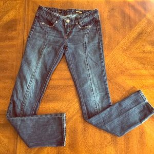 Express Stella skinny leg jeans 2 EUC